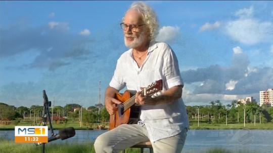 Renato Teixeira escolhe Dourados para viver nova fase musical
