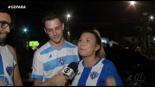 VÍDEO: Ingleses reforçam torcida pelo Paysandu na Copa Verde