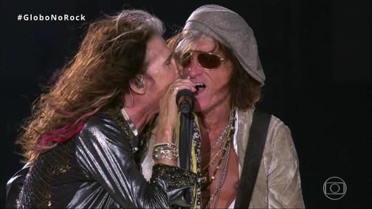 Aerosmith fecha 1º dia roqueiro do Rock in Rio com clima de despedida