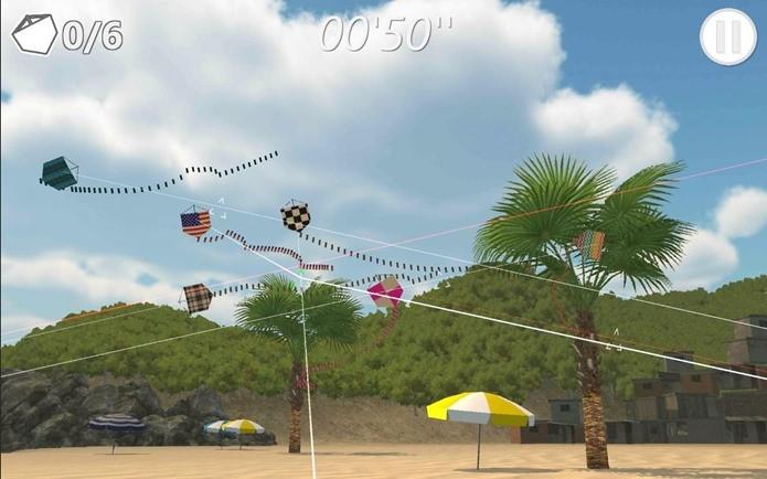 Real Kite tem gráficos em 3D que poucos jogos de pipa tem (Foto: Divulgação)