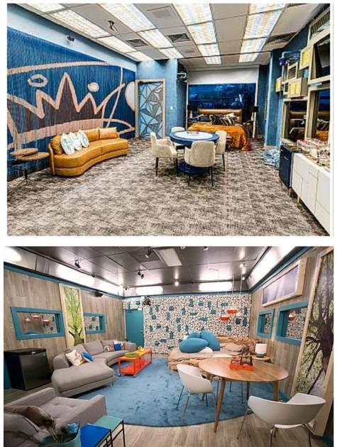 Os quartos do líder no 'BBB' (Foto: Reprodução)