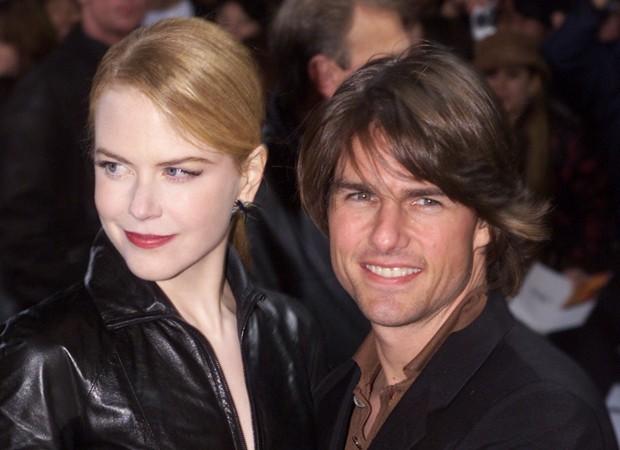 Nicole Kidman e Tom Cruise em 2001 (Foto: Getty Images)