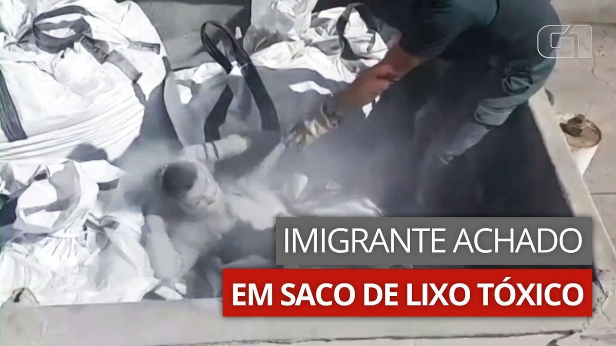 Imigrante é encontrado escondido em saco de lixo tóxico na Espanha; veja vídeo