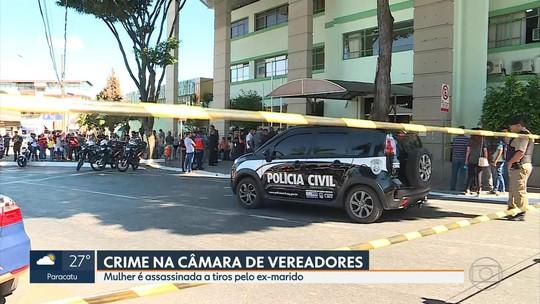 Policial civil é suspeito de assassinar ex-mulher dentro da Câmara de Contagem