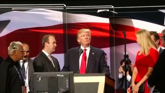 Trump é o candidato republicano oficial à presidência dos EUA
