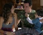 Nanda Costa, Rodrigo Lombardi e Luiz Felipe Mello em cena de 'Salve Jorge' | Reprodução