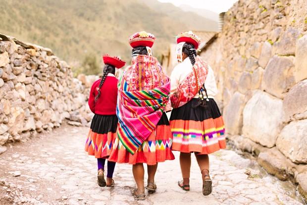 Exposição em Londres faz retrospectiva da cultura têxtil peruana (Foto: Marta Tucci)