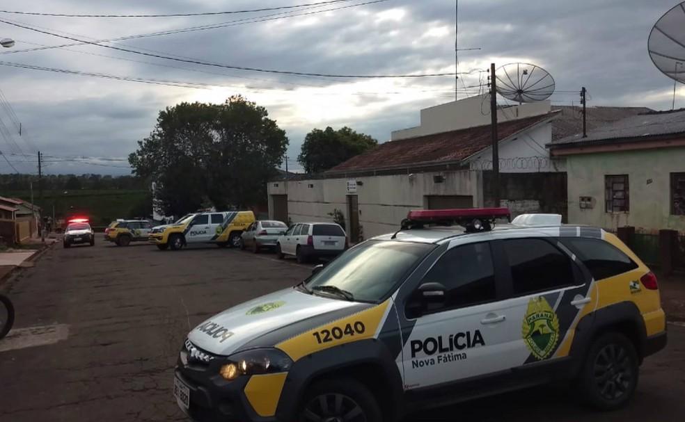 Presos da Delegacia de Nova Fátima estão rebelados — Foto: Reprodução/RPC
