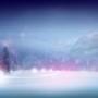 Papel de Parede: Snowy Lights