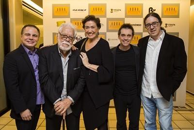 Ricardo Linhares, Manoel Carlos, Lilia Cabral, Ricardo Hofstetter e Geraldinho Carneiro