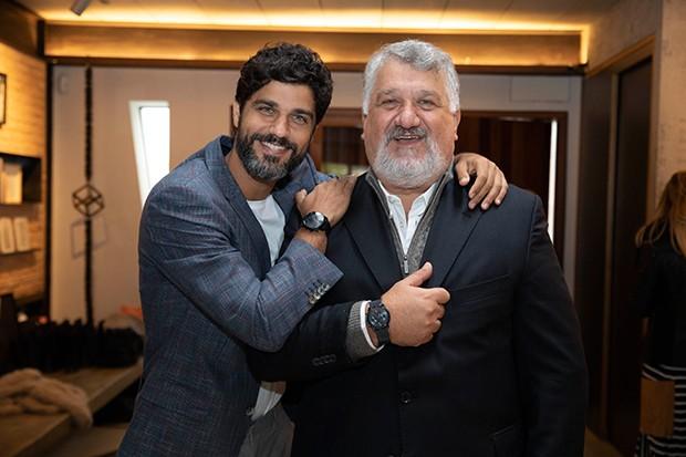 Bruno Cabrerizo e pai, José Alberto Cabrerizo (Foto: Felipe Panfili/ Divulgação)