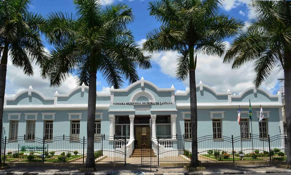 Câmara Municipal de Feira de Santana — Foto: Câmara de Feira de Santana/ Divulgação