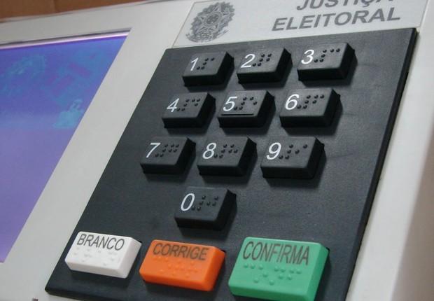Urna eletrônica (Foto: Agência Brasil/Arquivo)