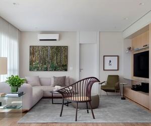 Apê de 174 m² é reformado para melhor uso dos moradores e convidados