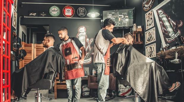 Salão de beleza, barbearia (Foto: Reprodução/Pexel)