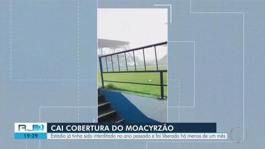 Ferj veta utilização do estádio Moacyrzão na Seletiva do Carioca após estragos da chuva