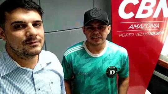 """""""É uma felicidade muito grande, um jogador de Rondônia ser convocado"""" afirma Vander, meia da Seleção Brasileira de Fut7"""
