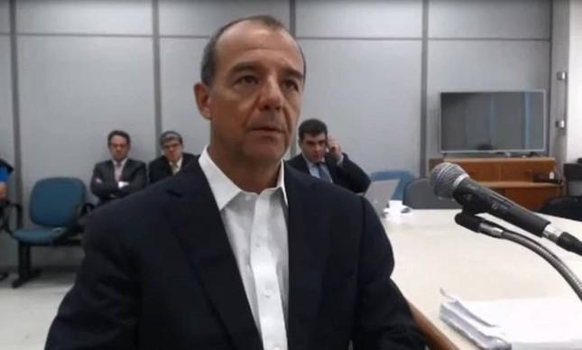 O ex-governador Sérgio Cabral, preso em fase anterior da Lava-Jato