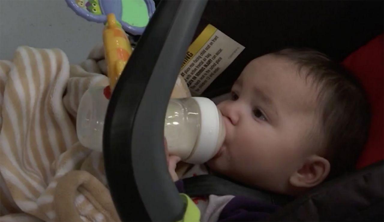 O bebê de 6 meses foi esquecido dentro da creche, que já estava fechada para o fim de semana (Foto: Reprodução/KULR TV)