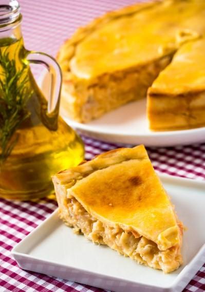 MP Tortas: torta salgada de bacalhau
