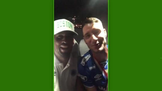 Jogadores e torcedores do Cruzeiro provocam Atlético-MG após título do Mineiro