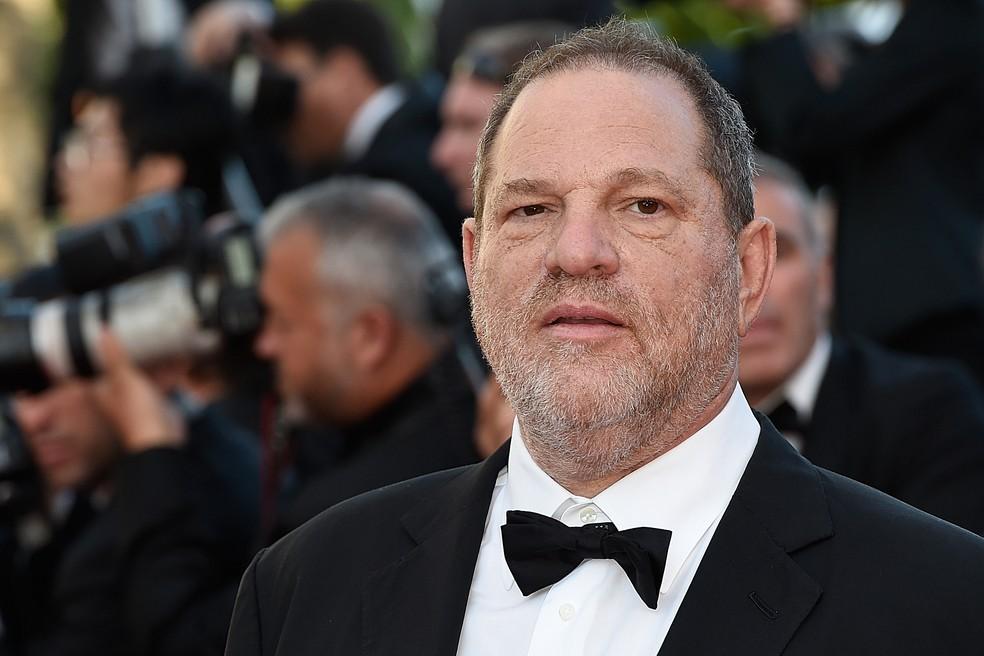 -  Harvey Weinstein no Festival de Cannes em 2015  Foto: Loic Venance/AFP