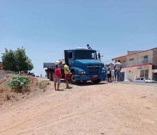 Trabalhador morre soterrado por sacas de cimento no interior do Ceará