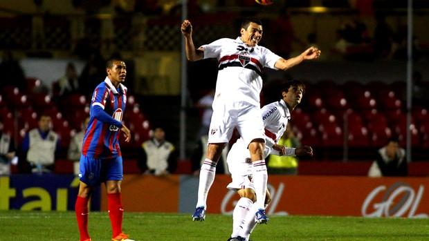 Lucio jogo São Paulo contra Bahia (Foto: Marcos Bezerra / Futura Press)