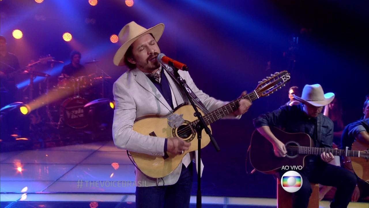 Edu Santa Fé canta 'Tristeza do Jeca' nos Shows ao Vivo