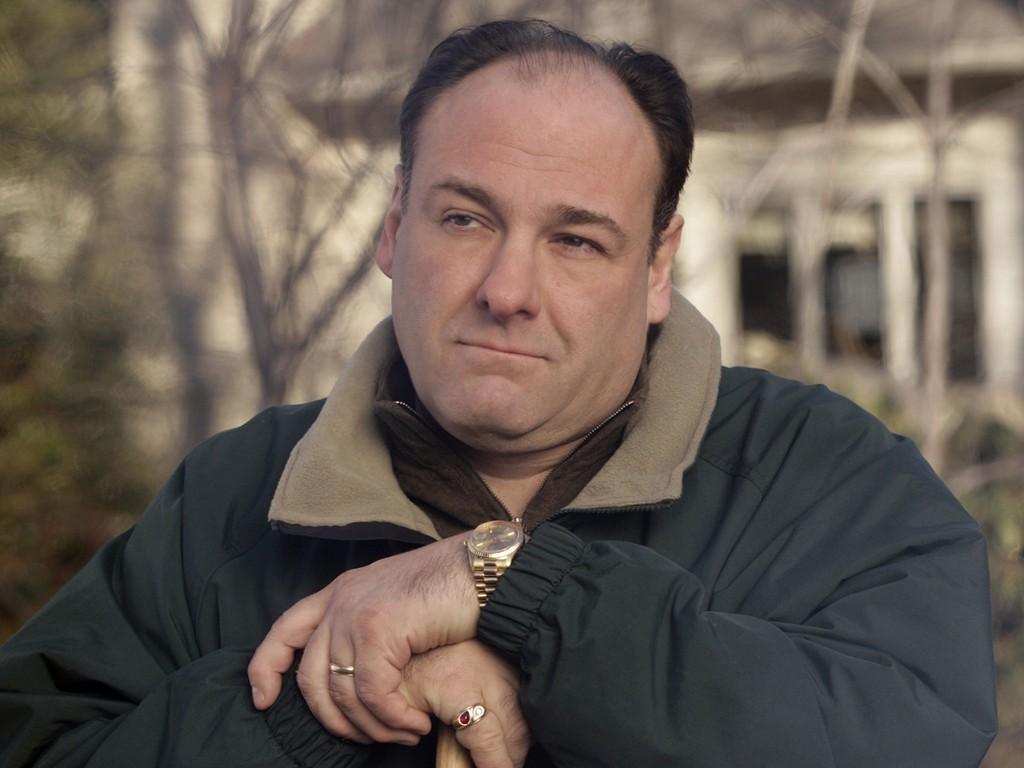 James Gandolfini em Família Soprano (Foto: Divulgação)