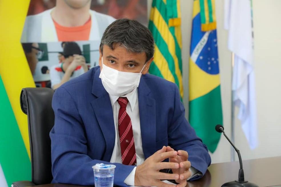 Governador do Piauí, Wellington Dias — Foto: Divulgação/Ccom