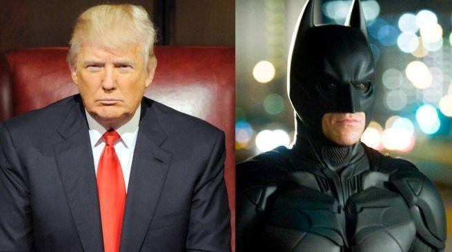 Donald Trump e Batman (Foto: reprodução)