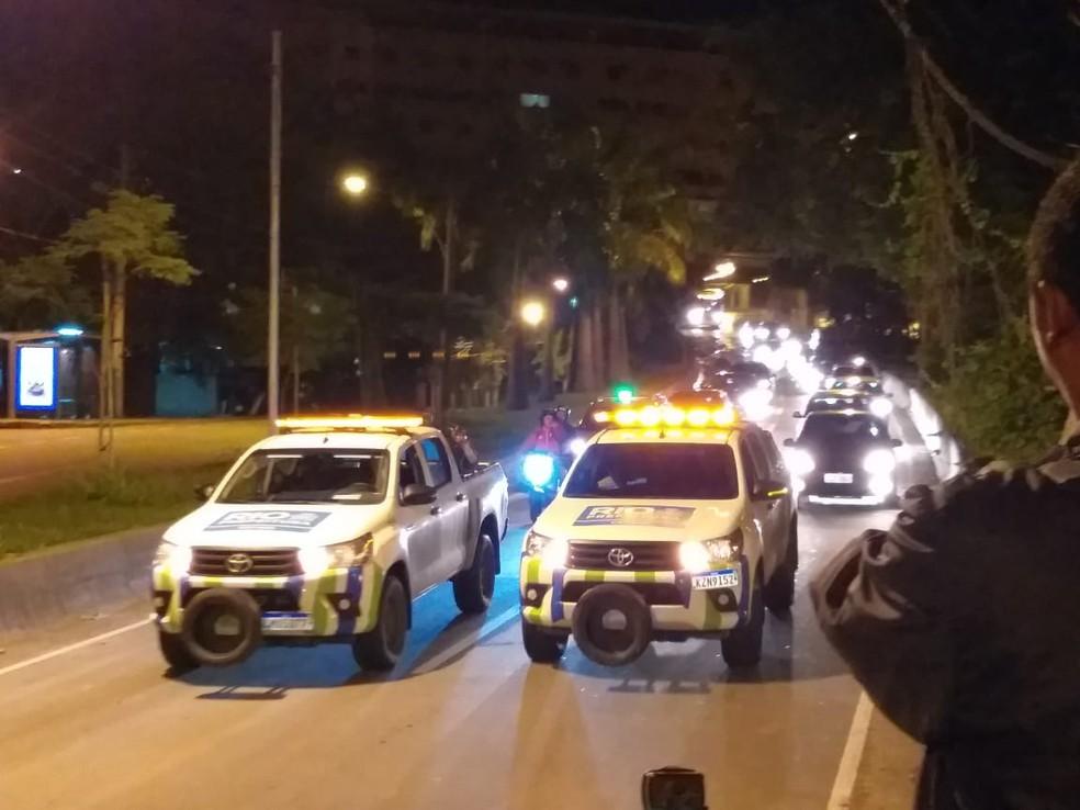 Túnel Acústico é totalmente reaberto no Rio de Janeiro — Foto: Renato Souza/TV Globo