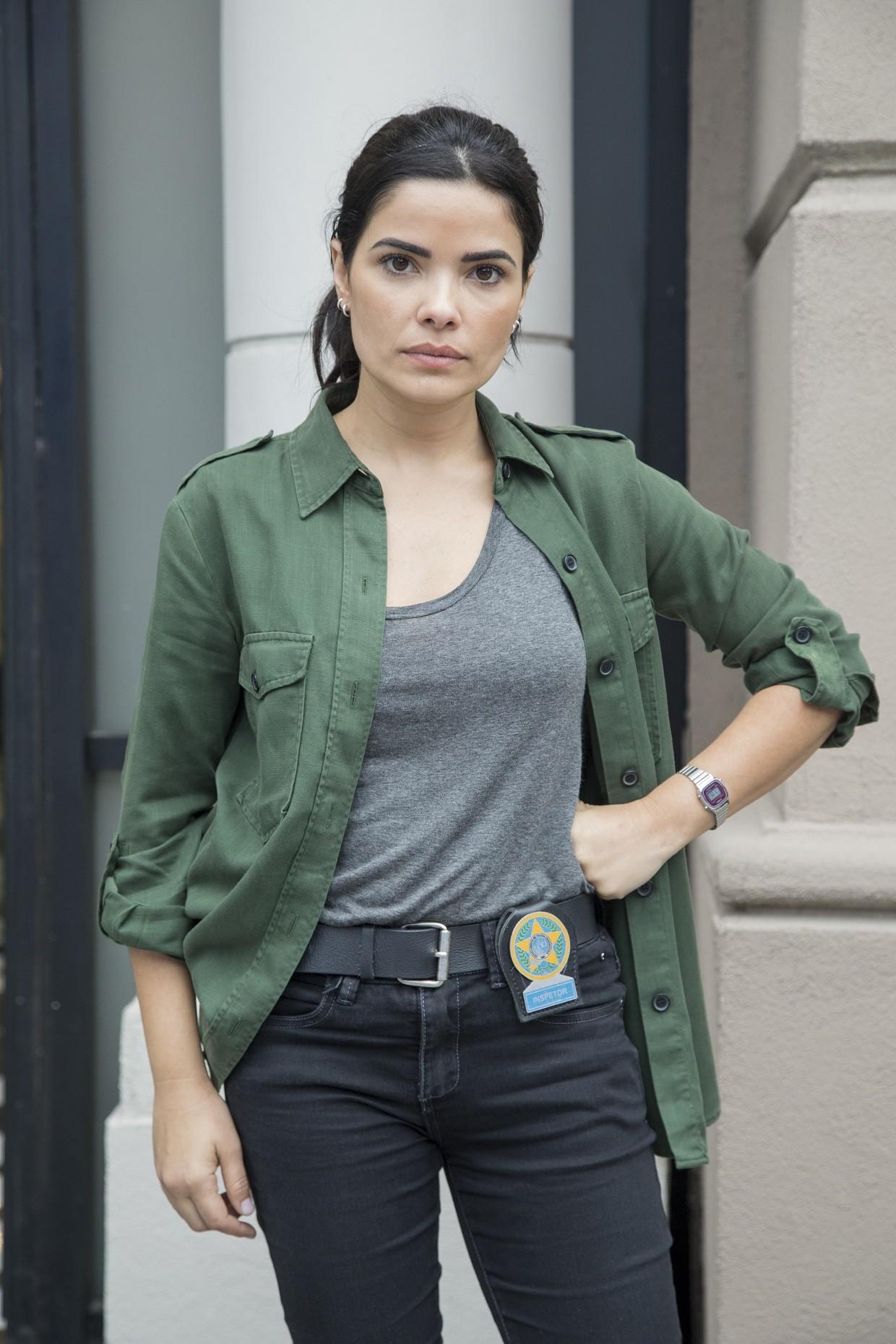 Vanessa Giácomo caracterizada como Antônia, sua personagem em Pega Pega (Globo, 2017) (Foto: Victor Pollak/TV Globo)