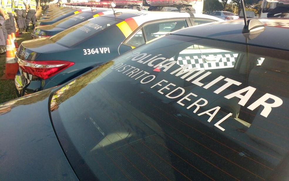 Polícia Militar do DF recebe 145 novas viaturas do governo (Foto: Elielton Lopes/G1)