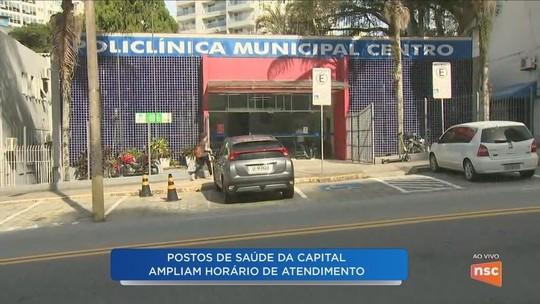 Dois centros de saúde de Florianópolis têm ampliação de horário de atendimento