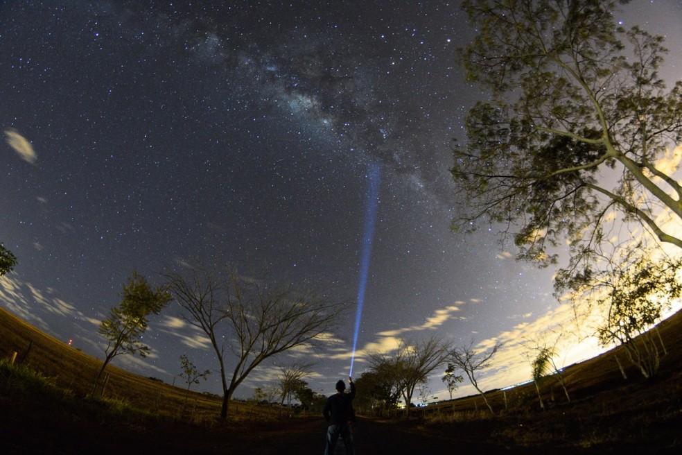 Fotógrafo de Brasília registra astros no céu  — Foto: Leo Caldas/Arquivo pessoal