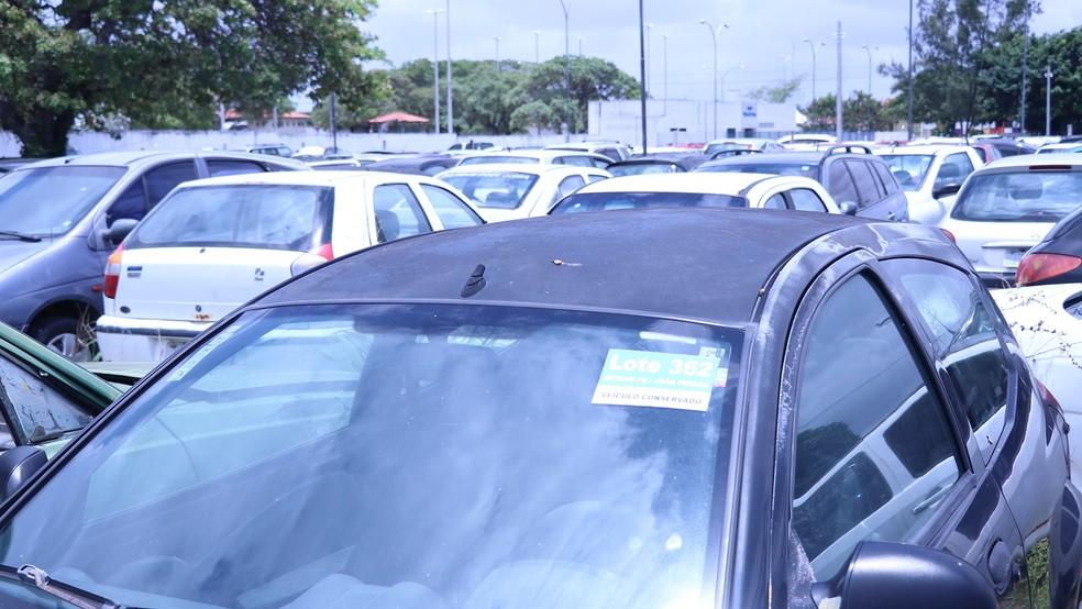 Leilão virtual do Detran tem mais de 1,2 mil veículos à venda a partir desta quarta (15) — Foto: Secom-PB/Divulgação