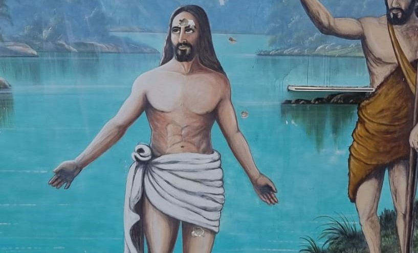 Homem é preso por disparo e posse irregular de arma de fogo após atirar contra imagem de Jesus Cristo; VÍDEO