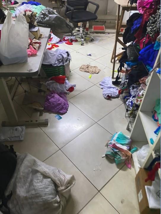 Criminosos invadem loja de biquínis e deixam prejuízo de R$ 15 mil em Vila Velha, ES
