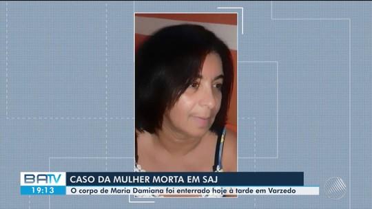 Mulher morta a marretada pelo marido e enterrada em quintal de bar é sepultada na BA