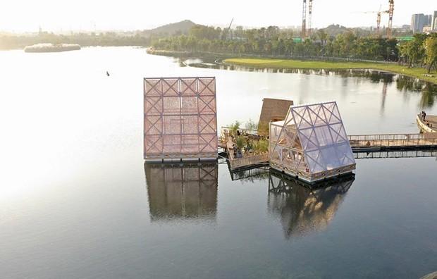 Arquitetos revelam novo projeto de escola flutuante na China (Foto: Divulgação)