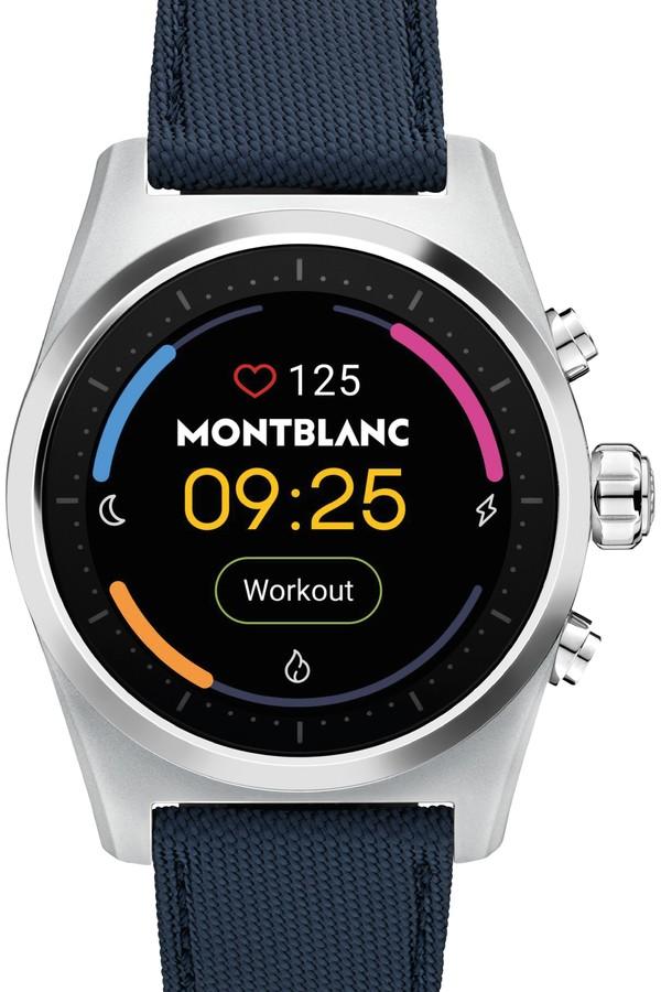 Montblanc expande linha wearable e apresenta o summit lite - gq | relógios