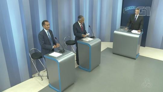 Candidatos ao governo do AP no 2º turno participam de debate na Rede Amazônica