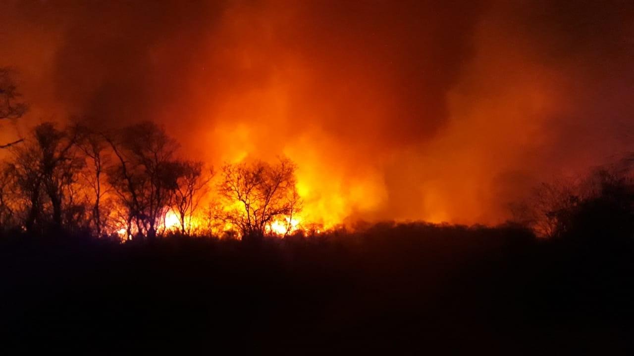 Incêndio atinge região de mata na zona rural de Jurema, no Sul do Piauí