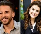 Júnior Lima e Paloma Bernardi: convite para 'Hipertensão' | TV Globo