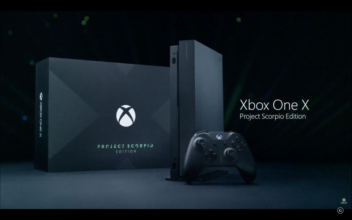 xbox one x project scorpio  u00e9 a edi u00e7 u00e3o especial do console