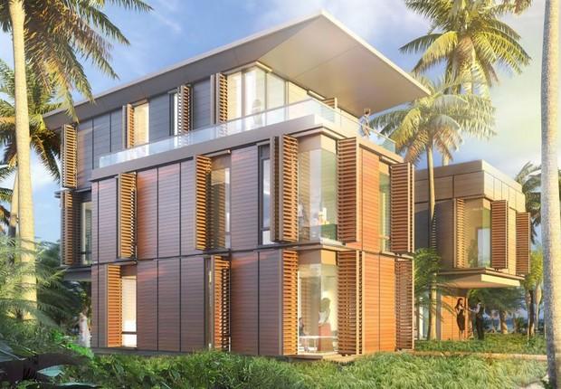 Projeto de casa pré-fabricada da startup Revolution Precrafted (Foto: Revolution Precrafted/Divulgação)