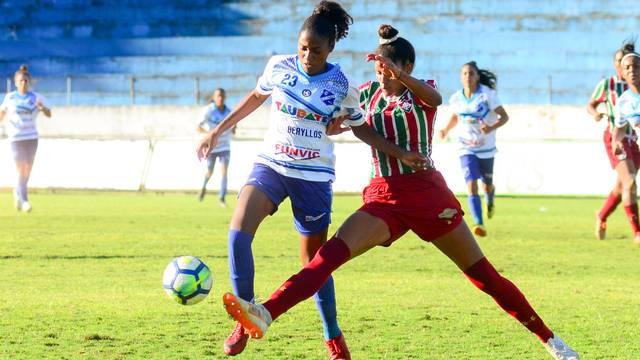 Taubaté venceu o Fluminense pelo Brasileiro Feminino A2