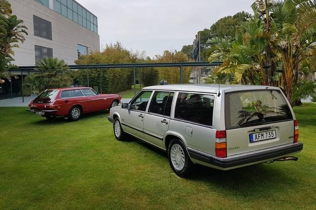 Modelo 960 foi o último Volvo produzido com tração traseira (Foto: Julio Cabral/Autoesporte)